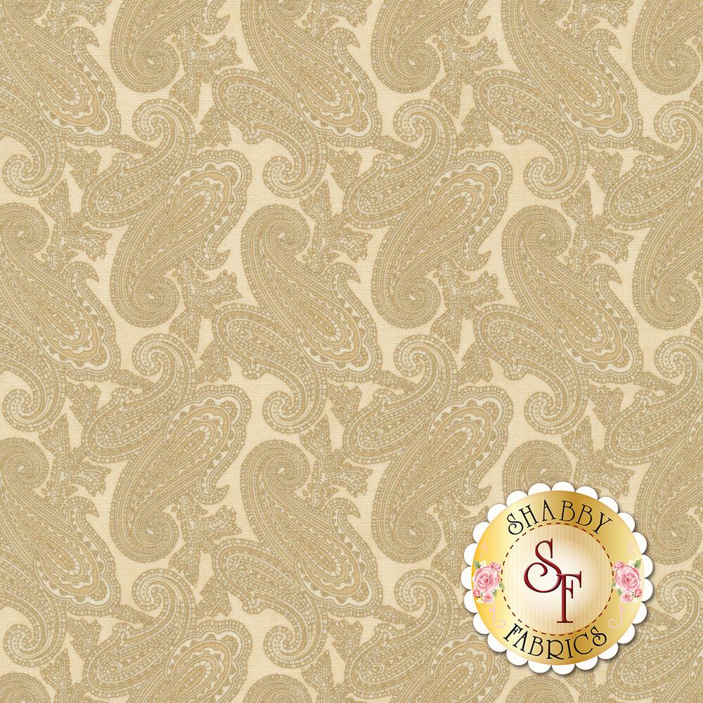 Large tonal paisleys | Shabby Fabrics