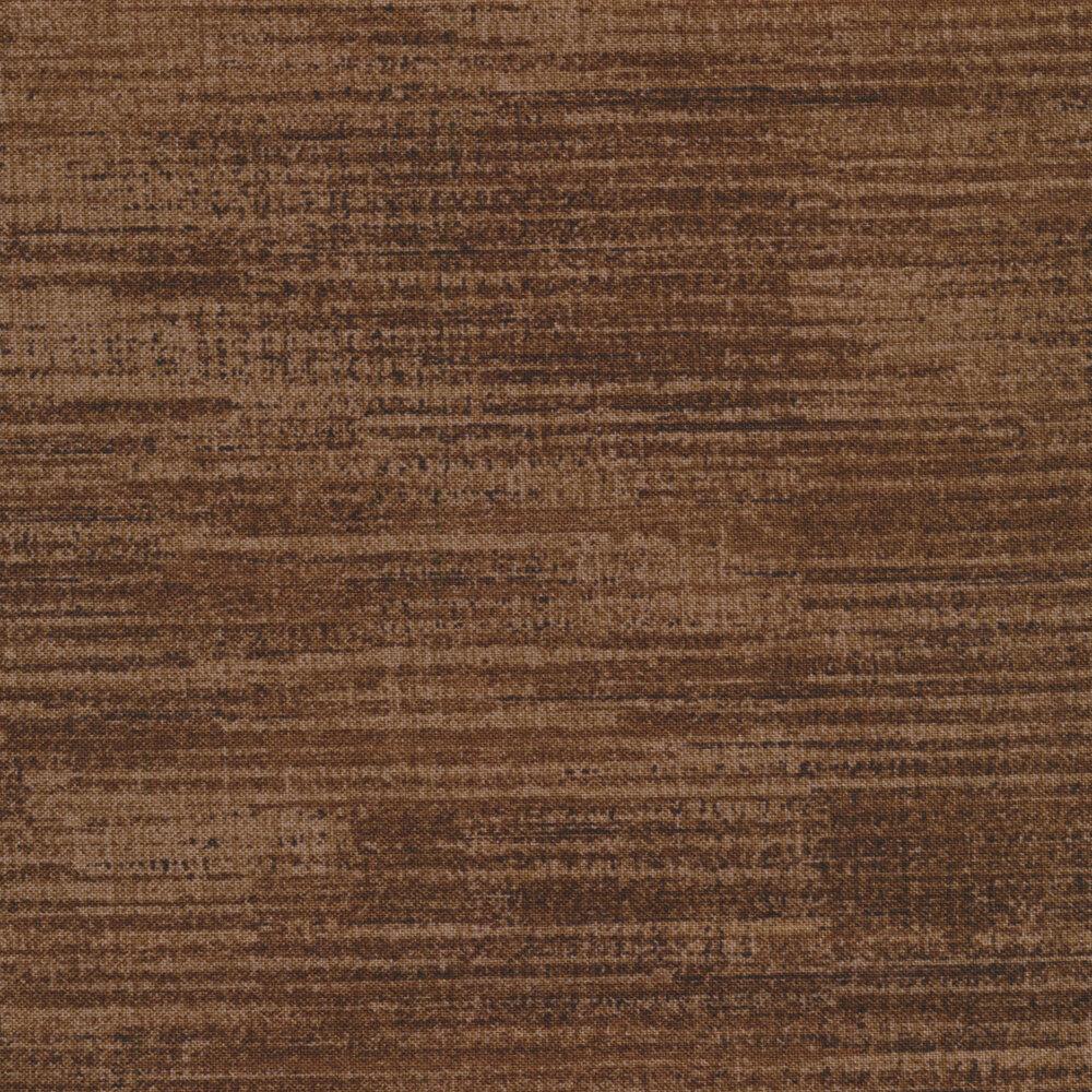 Textured brown fabric | Shabby Fabrics