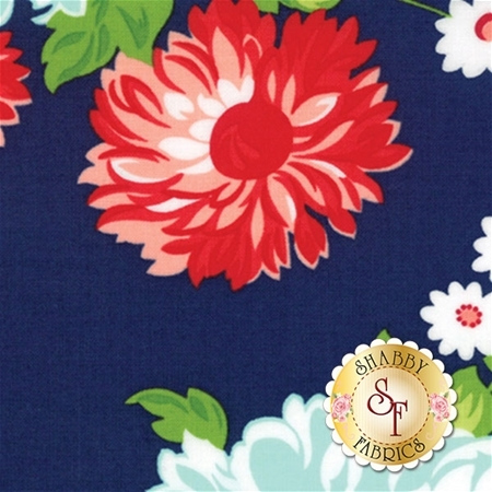 The Good Life 55150-16 Navy by Bonnie & Camille for Moda Fabrics
