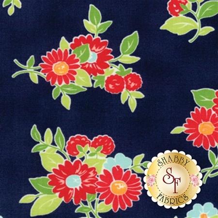The Good Life 55151-16 Navy by Bonnie & Camille for Moda Fabrics