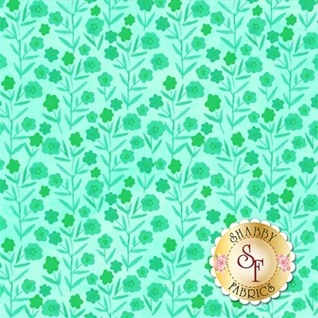 Floral Menagerie 5FMB3 by Gray Sky Studio for In The Beginning Fabrics