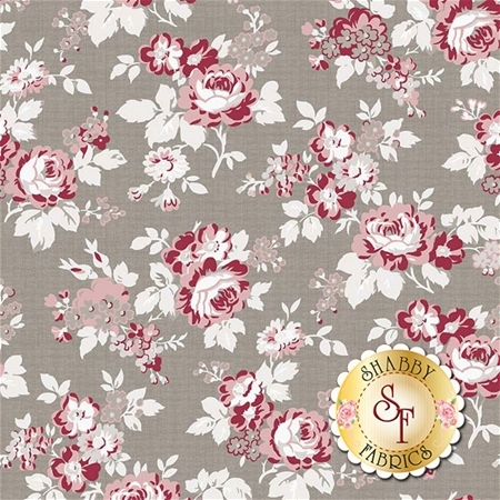 Rustic Romance C7060-GRAY by Riley Blake Designs