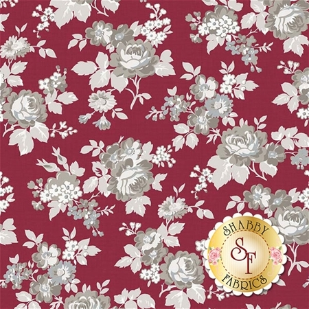 Rustic Romance C7060-RED by Riley Blake Designs