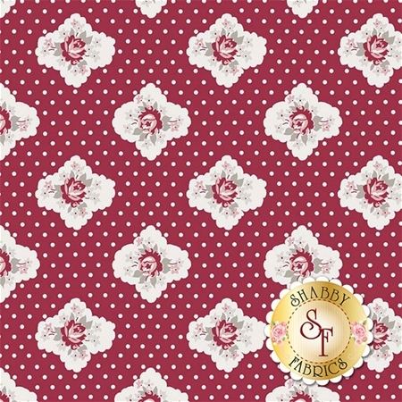 Rustic Romance C7061-RED by Riley Blake Designs