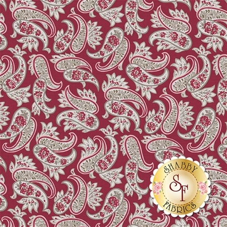 Rustic Romance C7062-RED by Riley Blake Designs