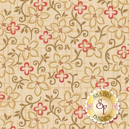 Berries & Blossoms 8834-44 by Janet Rae Nesbitt for Henry Glass Fabrics