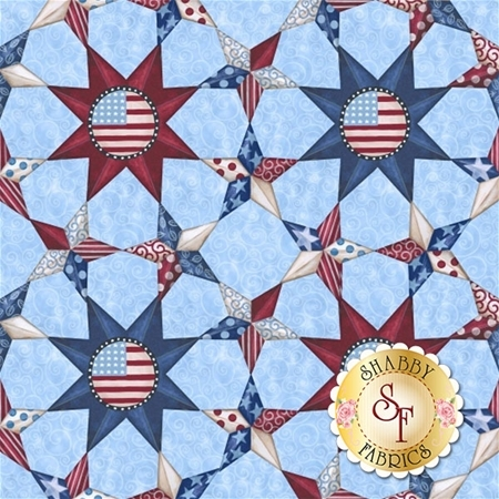 Land That I Love 8957-70 by Blank Quilting Corporation