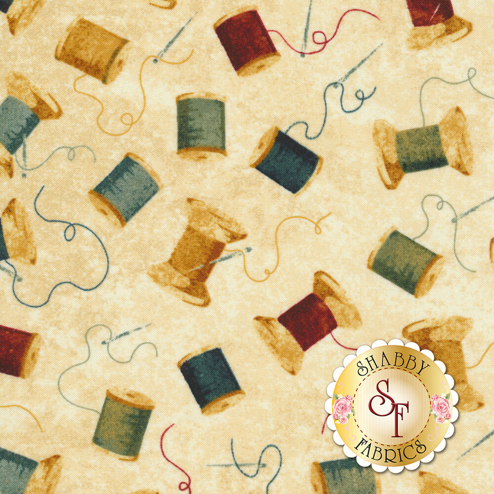 A Stitch In Time 21332-11 by Northcott Fabrics