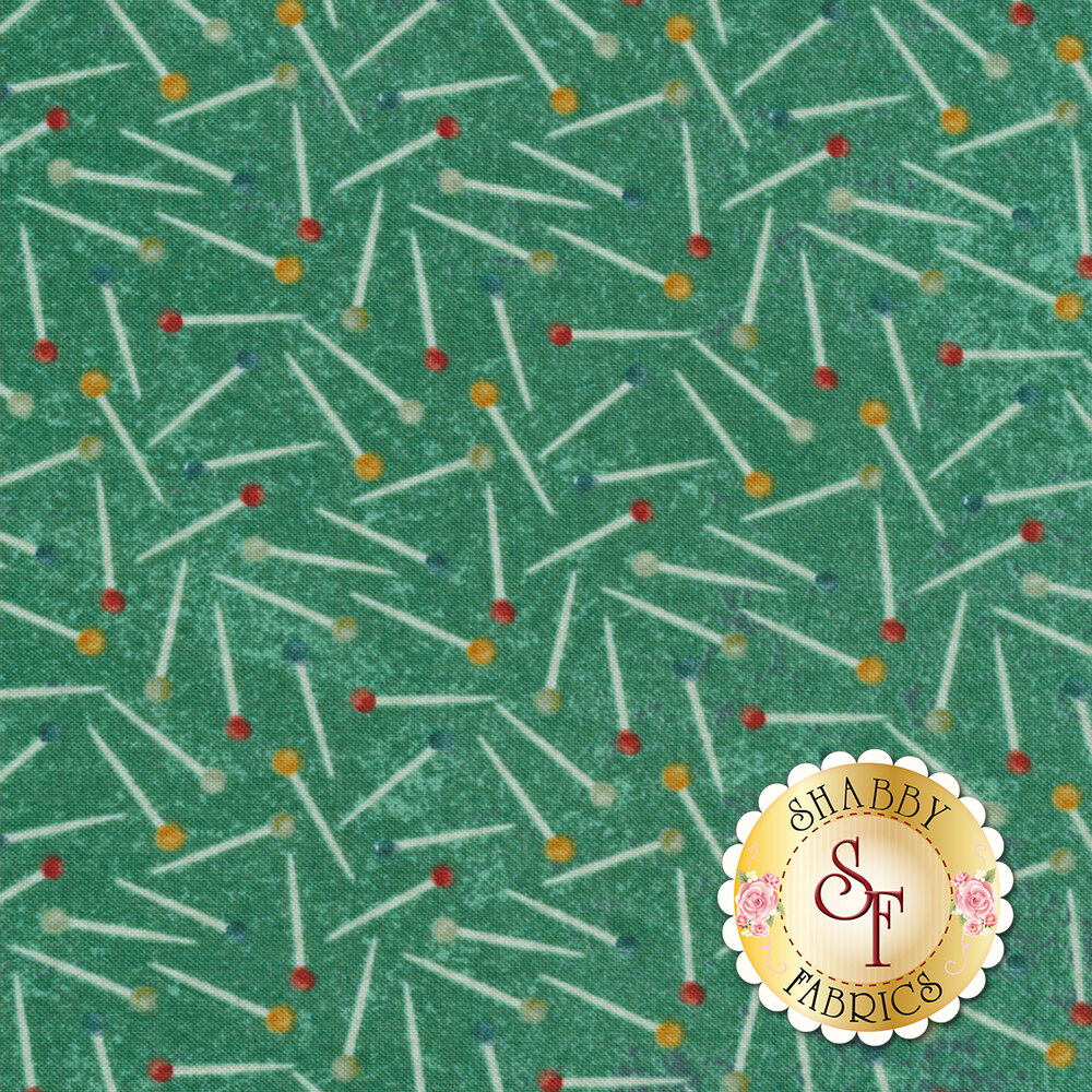 A Stitch In Time 39359-69 by Northcott Fabrics