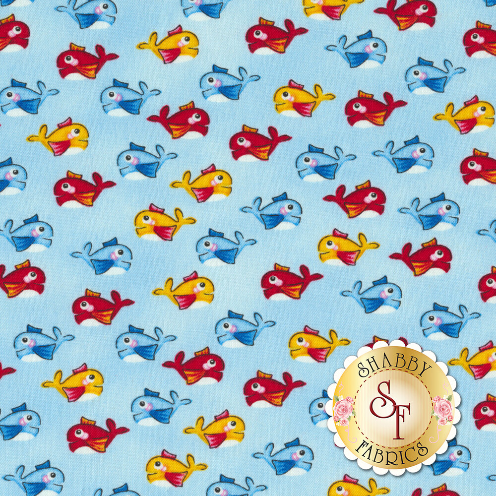 A Whale of a Time 4415-11 from Studio E Fabrics