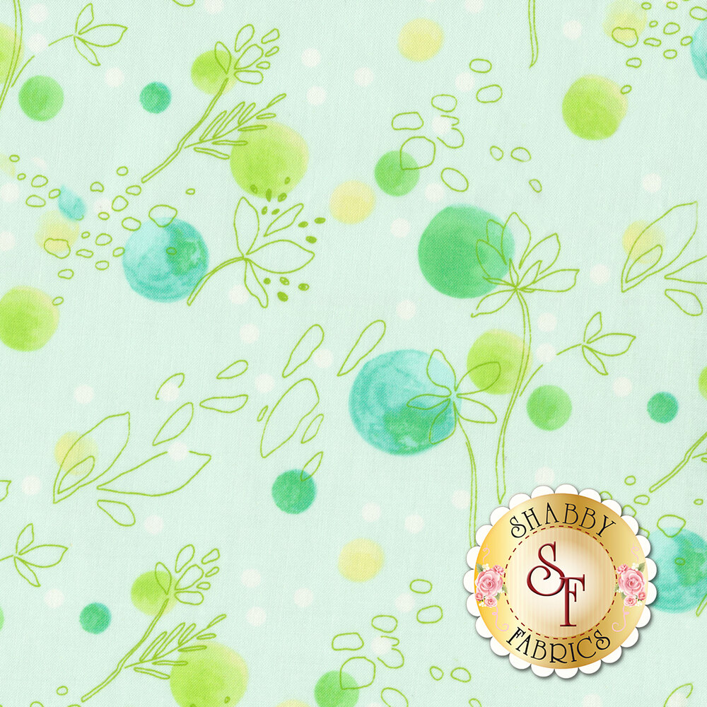 Abloom DC8525-MINT from Michael Miller Fabrics by Tamara Kate