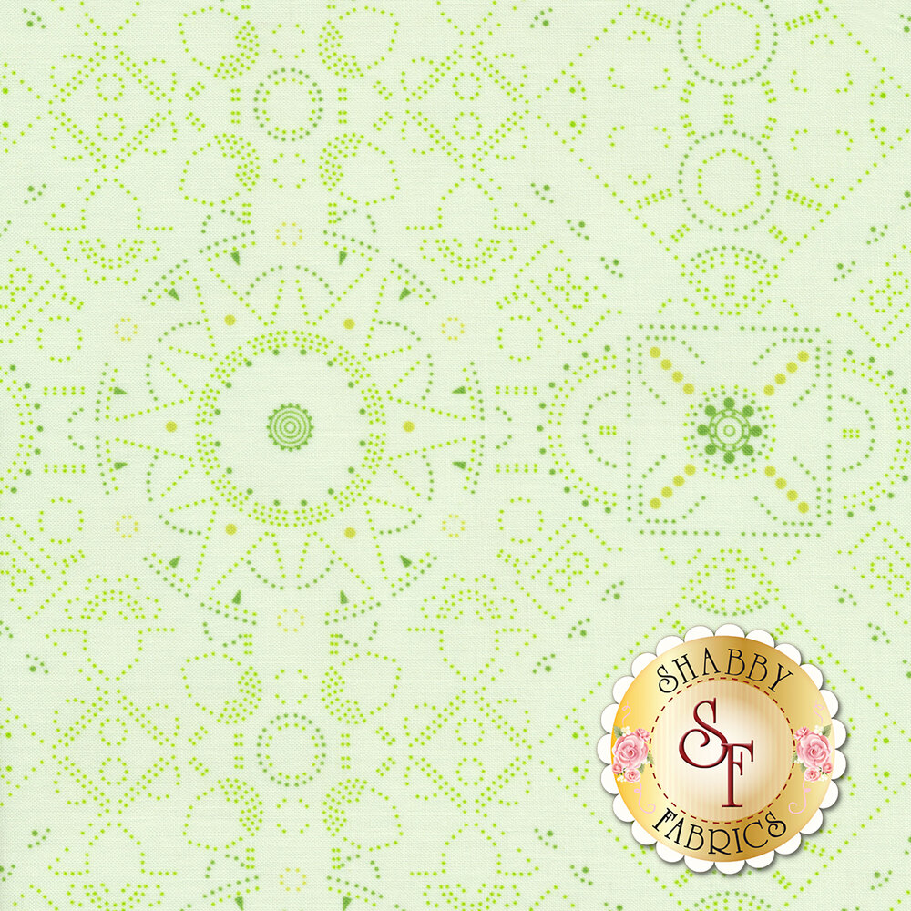 Abloom DC8528-MINT from Michael Miller Fabrics by Tamara Kate