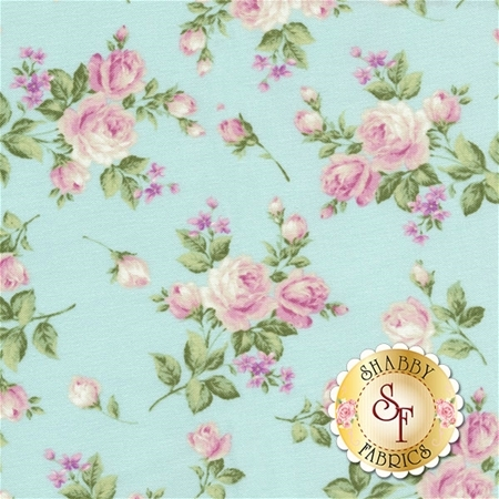 Afternoon In The Attic 3145-002 Heirloom Floral Sweet Pea by RJR Fabrics