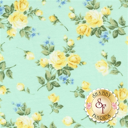 Afternoon In The Attic 3145-003 Heirloom Floral Daffodil by RJR Fabrics