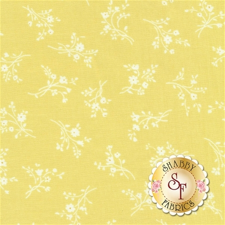 Afternoon In The Attic 3149-005 Cameo Blossom Daffodil by RJR Fabrics