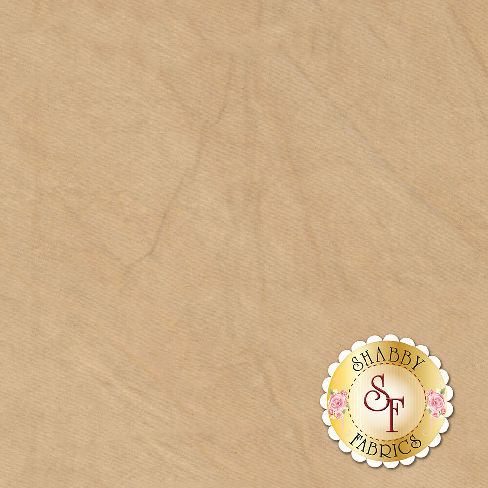 A textured tan muslin fabric | Shabby Fabrics