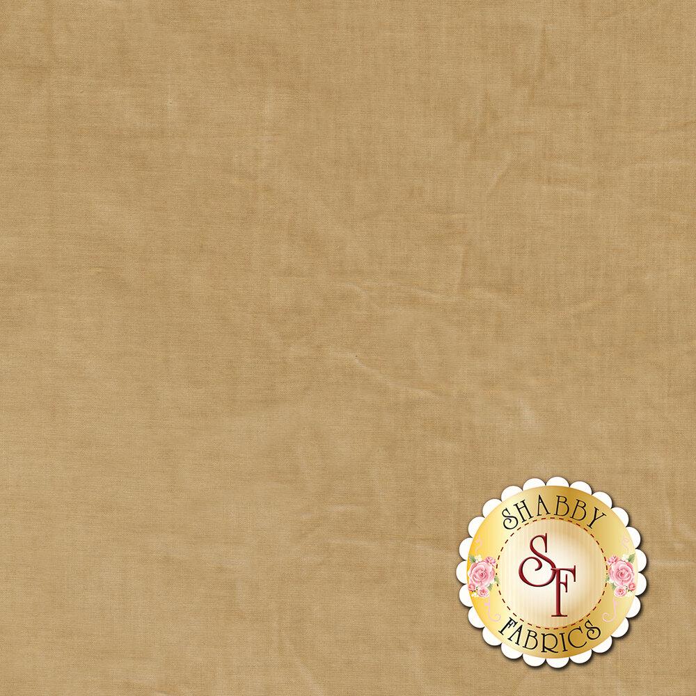 A textured light brown muslin fabric | Shabby Fabrics