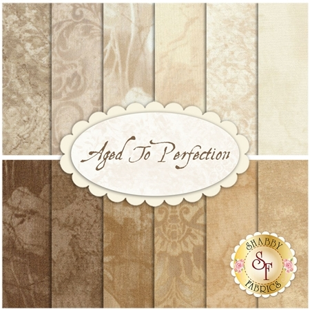 Aged To Perfection  12 FQ Set from Maywood Studio Fabrics