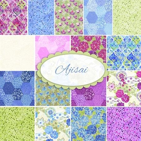 Ajisai  Yardage by Jason Yenter for In The Beginning Fabrics