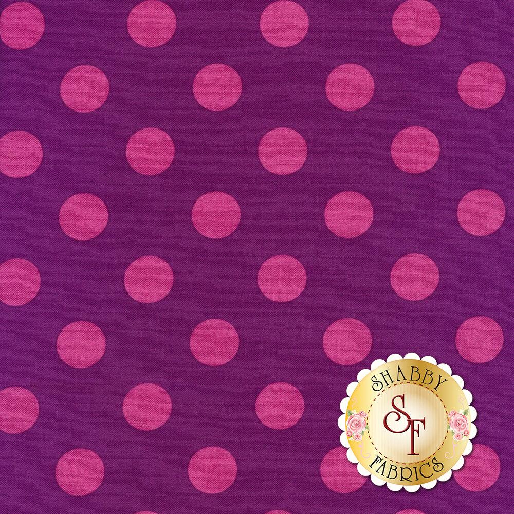 All Stars - Pom Poms & Stripes PWTP118-FOXGL by Tula Pink for Free Spirit Fabrics
