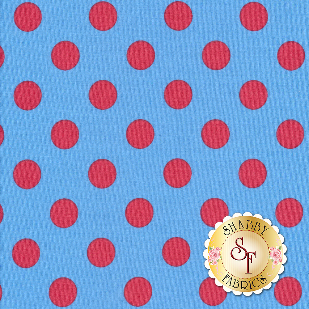 All Stars - Pom Poms & Stripes PWTP118-LUPIN by Tula Pink for Free Spirit Fabrics