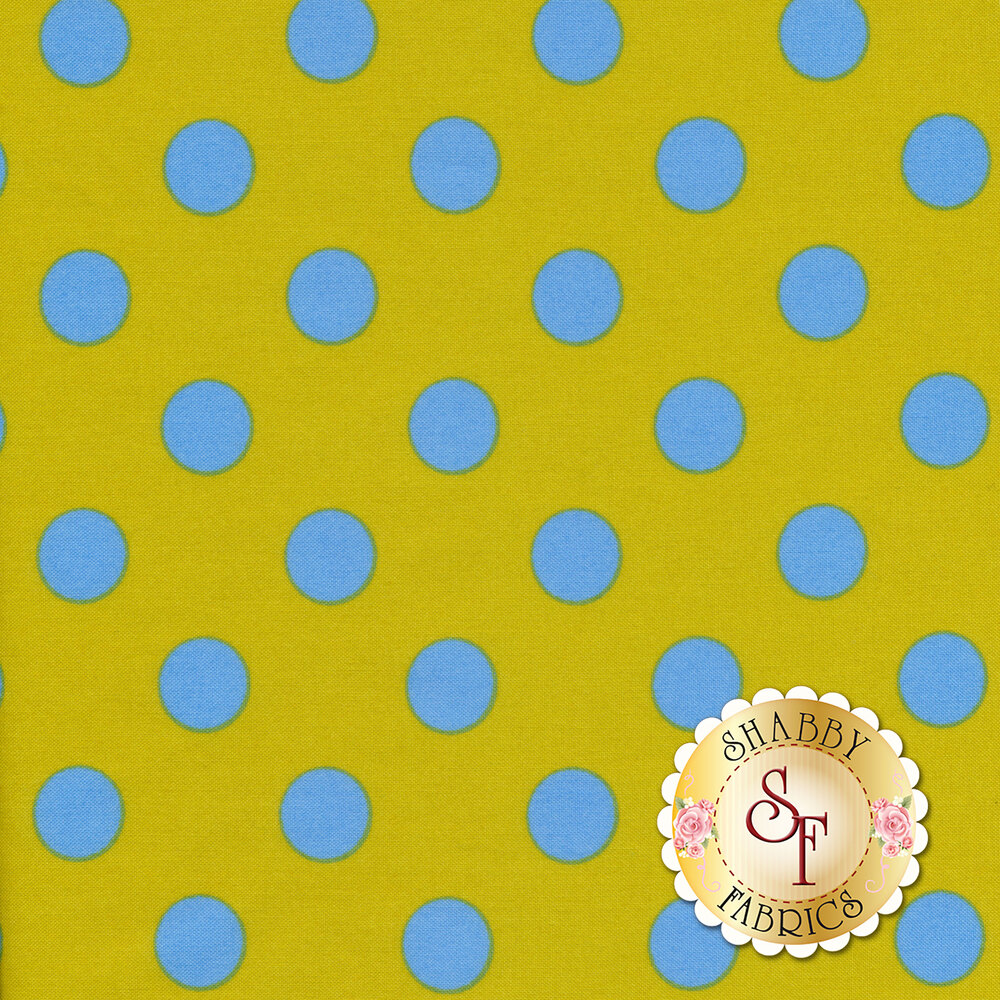 All Stars - Pom Poms & Stripes PWTP118-MYRTL by Tula Pink for Free Spirit Fabrics