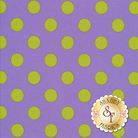 All Stars - Pom Poms & Stripes PWTP118-ORCHI by Tula Pink for Free Spirit Fabrics