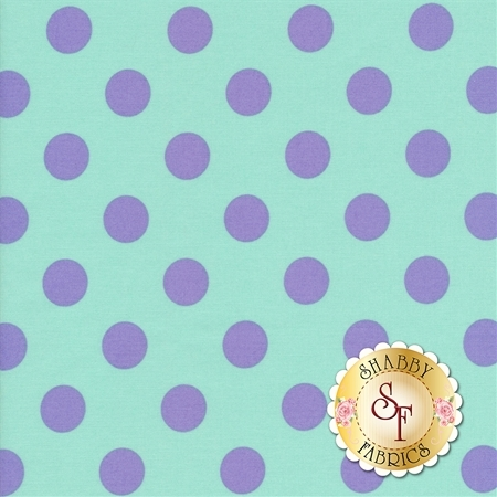 All Stars - Pom Poms & Stripes PWTP118-PETUN by Tula Pink for Free Spirit Fabrics