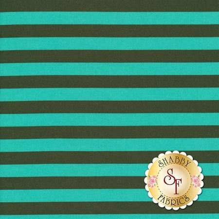 All Stars - Pom Poms & Stripes PWTP069-FERNX by Tula Pink for Free Spirit Fabrics