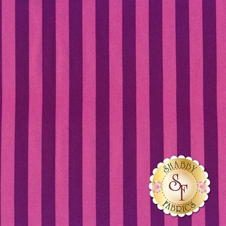 All Stars - Pom Poms & Stripes PWTP069-FOXGL by Tula Pink for Free Spirit Fabrics
