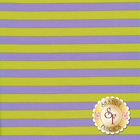 All Stars - Pom Poms & Stripes PWTP069-ORCHI by Tula Pink for Free Spirit Fabrics