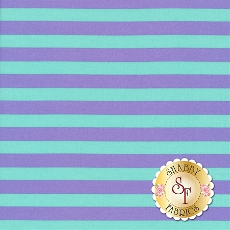 All Stars - Pom Poms & Stripes PWTP069-PETUN by Tula Pink for Free Spirit Fabrics