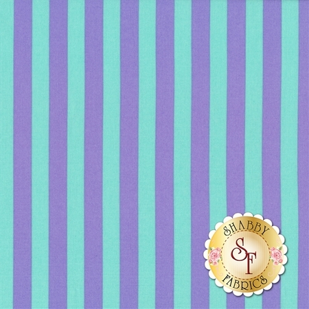 All Stars - Pom Poms & Stripes PWTP069-PETUN by Tula Pink for Free Spirit Fabrics