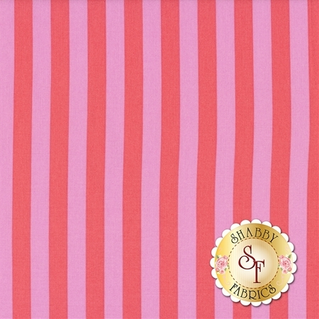 All Stars - Pom Poms & Stripes PWTP069-POPPY by Tula Pink for Free Spirit Fabrics