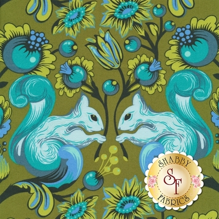 All Stars PWTP028-FERNX by Tula Pink for Free Spirit Fabrics