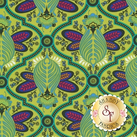 All Stars PWTP115-AGAVE by Tula Pink for Free Spirit Fabrics