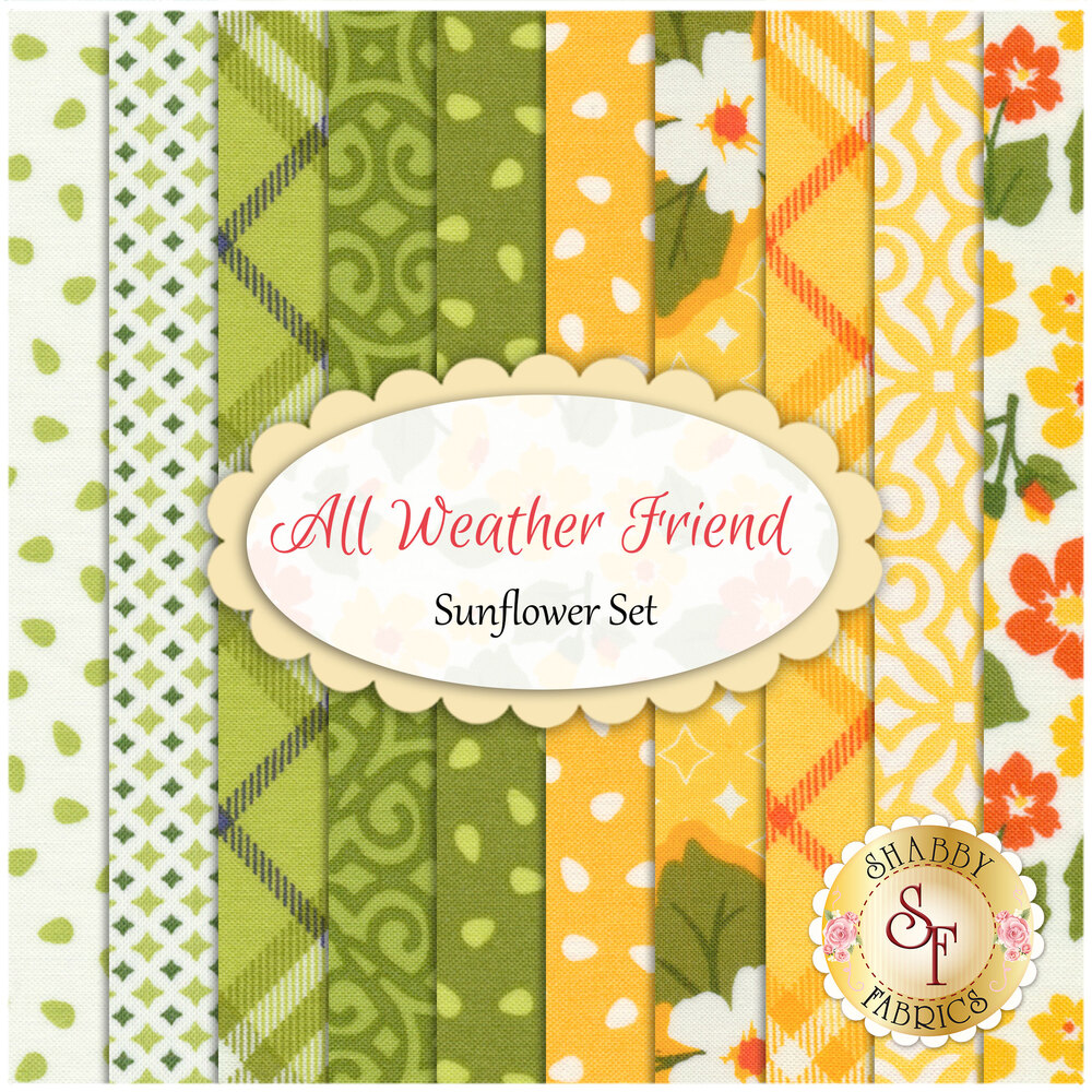 All Weather Friend by April Rosenthal for Moda Fabrics available at Shabby Fabrics
