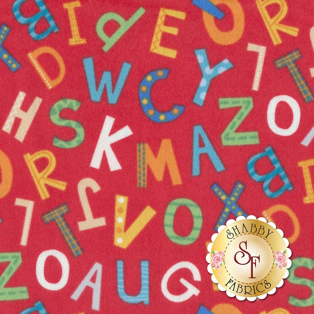Alphabet Soup Flannel F22391-24 for Northcott Fabrics