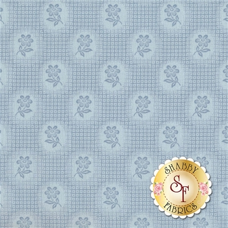 Amelia C5842-BLUE Check Blue By Penny Rose Studio for Riley Blake Designs
