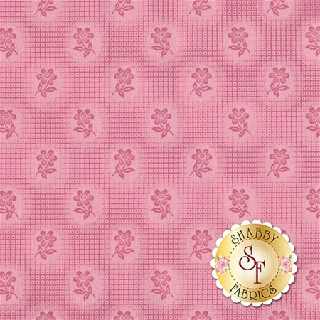 Amelia C5842-PINK Check Pink By Penny Rose Studio for Riley Blake Designs