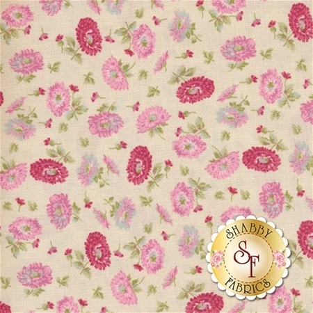 Amelia C5843-CREAM Floral Cream By Penny Rose Studio for Riley Blake Designs