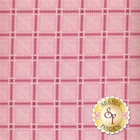 Amelia C5846-PINK Plaid Pink By Penny Rose Studio for Riley Blake Designs
