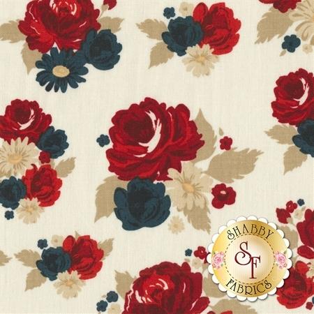 American Heritage C8030-CREAM by Penny Rose Fabrics