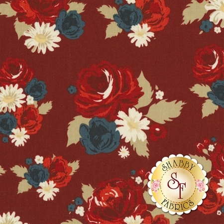 American Heritage C8030-RED by Penny Rose Fabrics
