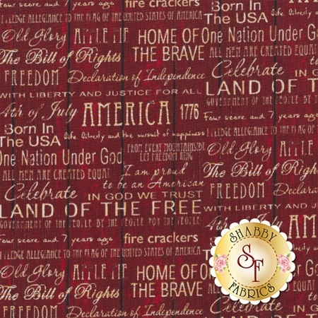 American Pride 112-30602 by Sally Keszler for Fabri-Quilt Fabrics