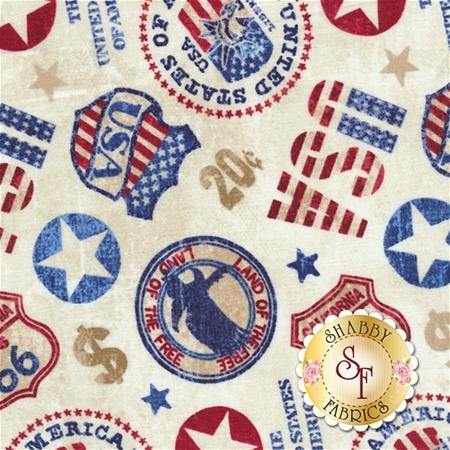 American Vintage 21336-11 by Deborah Edwards for Northcott Fabrics
