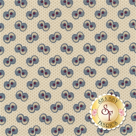 Americana II C5232-CREAM by Carrie Quinn for Penny Rose Fabrics