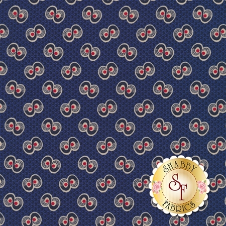 Americana II C5232-NAVY by Carrie Quinn for Penny Rose Fabrics