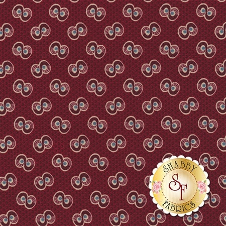 Americana II C5232-RED by Carrie Quinn for Penny Rose Fabrics