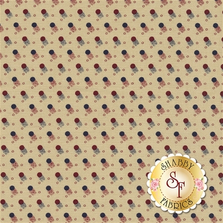 Americana II C5233-CREAM by Carrie Quinn for Penny Rose Fabrics